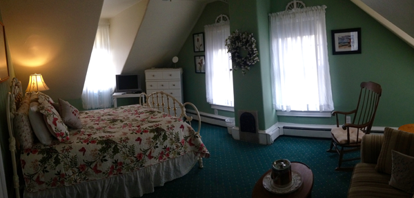 Dormer Room third floor rooms at the dormer house b&b - cape may nj bed and