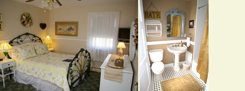 Diana Room Dormer House Bed and Breakfast in Cape May New Jersey
